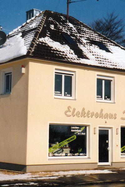 Elektrohaus Ibele in den 90er Jahren.